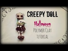 ▶ Creepy Doll ▪ Halloween ▪ Polymer Clay tutorial