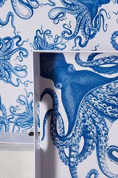 Octopus Melamine Serving Trays - anthropologie.com #Anthropologie #PintoWin