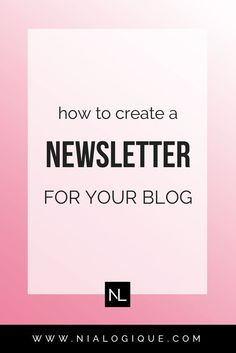 How To Create a Newsletter and Opt-in Form For Your Blog + How To Get Started with ConvertKit | Learn how to create sign up forms, content upgrades, welcome email sequences, and just about everything else you need to know about getting started with your mailing list and email marketing.