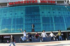 Winning a Chevening Scholarships also means winning the opportunity to experience everything the UK has to offer. In this picture some of our Indonesian Chevening Scholars are outside the world famous Old Trafford, home of Manchester United Football Club. Manchester United Old Trafford, Manchester United Football, Uk Culture, Indiana, World Famous, The Outsiders, Basketball Court, The Unit, Club