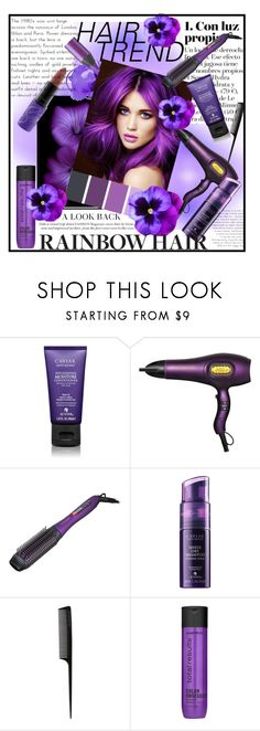 """Sin título #4262"" by licethfashion ❤ liked on Polyvore featuring beauty, Alterna, GHD, Matrix Biolage, hairtrend and rainbowhair"