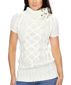This Ivory Cowl Neck Top - Women by Prestige Edge is perfect! #zulilyfinds