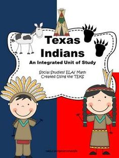Texas Indians - Reading Comprehension and More!  Great Texas history lessons. #education  #tpt  #literacy