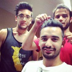 Haircut Piero, Dario, & Andrea