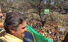 Portal Galdinosaqua: PSDB d Aécio diz q a solução para a crise será pela Constituição