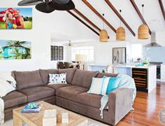 HOUSE RULES: QLD reveal - Maddi and Lloyd-- love this makeover!! so simple and perfect!