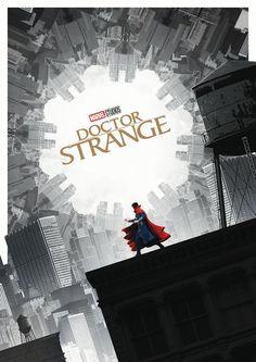 """marvel-feed: """"NEW 'DOCTOR STRANGE' POSTER! """""""