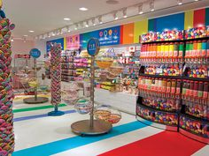 Pin by snuggles macghee on gift ideas for my friends and family in 2019 маг Dylan's Candy, Sugar Candy, Candy Store Design, Candy Store Display, Fini Candy, Candy Brands, Candy Stores, Kandy Shop, Kawaii Shop