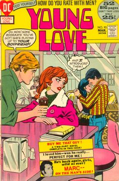 Young Love 93 Romance Comics Vintage Comic Books