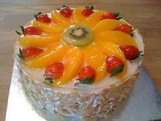 Cookiss @ Sheryl's Kitchen: Fruity Birthday Cake