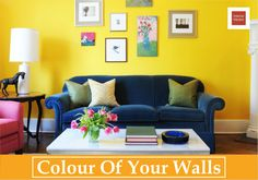 The colour of your walls should depend on the look your want. If you want a chirpy fresh look, bright colours would do. For a more calm...