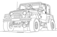 1000  images about jeep coloring book on pinterest