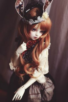 All The Tiny Humans: A Doll Blog | dollsociety: rabbit ears