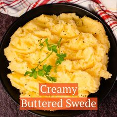 This simple vegetable side dish recipe of creamy buttered swede, aka neeps, makes a perfect addition to the dinner table. Great served up at family meals and for Christmas, Burns Night or Hogmanay. Swede gently boiled, then mashed with butter and an optional splash of milk or cream.