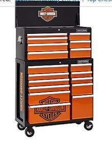 Harley Davidson Toolbox Part Gear Harleydavidson Storage Limited Edition Chest