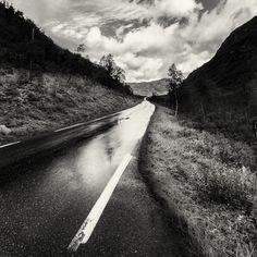 Driving alone by Kjetil Tofte