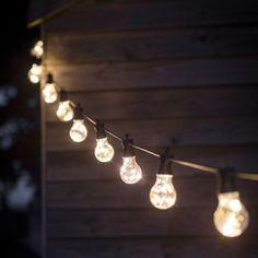 Guirlande lumineuse 10 ampoules Festoon | DECOCLICO