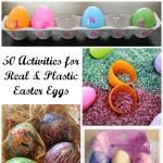 Reading Confetti: 10 Ways to Learn Numbers and Letters with Plastic Easter Eggs