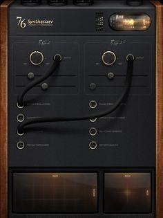 Inspireert mij doordat de interface echte objecten gebruikt (skeuomorphism) en de schaduws die er gebruikt zijn.
