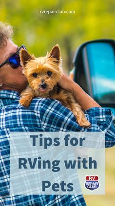 Studies have shown that more than 75% of people who purchase an RV or trailer do so with their pets in mind. Traveling with pets can be a rewarding and cost-effective experience, especially when on the road for extended trips. If you plan to hit the road with your furry companions, there are certain things you should keep in mind, including a few precautions for visiting campgrounds. In this lesson, we teach you what to be aware of and bring along while RVing with pets. Rv Tips, Camping Tips, Rv Videos, Crochet Towel, Tear Drops, Rv Trailers, Camper Life, Pet Travel, Pet Safe