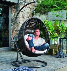 Závesné kreslo TAHITI 2 - SCONTO NÁBYTOK Tahiti, Hanging Baskets, Hanging Chair, Outdoor Furniture Chairs, Outdoor Living, Sweet Home, Relax, Backyard, Home Decor