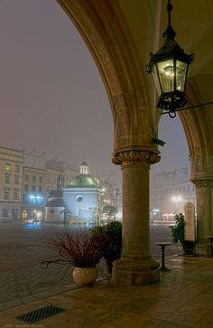 In the fog - Krakow, Poland......... some dreams come true...(26.8.2014)