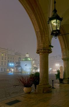 In the fog - Krakow, Poland