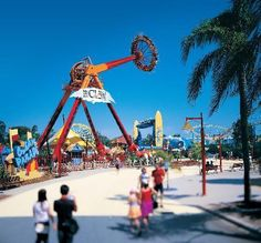 Ocean Parade at Dreamworld #Australia #Goldcoast http://www.tripadvisor.com.au/ShowForum-g255337-i929-Gold_Coast_Queensland.html
