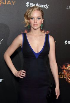 Jennifer Lawrence attends The Hunger Games: Mockingjay - Part 1 party at Cannes
