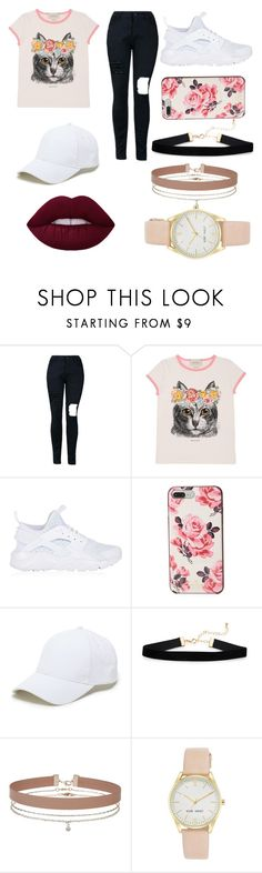 """""""LOVE CATS WITH FLORAL CROWNS 🌹🌹👑👑"""" by kimrlanier on Polyvore featuring Gucci, NIKE, Kate Spade, Sole Society, Miss Selfridge and Nine West"""