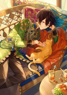 """スガ on Twitter: """"#2020年自分が選ぶ今年上半期の4枚 仕事ばかりで趣味絵は少ないなぁ…😟… """" Anime Angel, Anime Demon, Pretty Art, Cute Art, Anime Boy Zeichnung, Boy Images, Handsome Anime, Ensemble Stars, Cute Anime Character"""