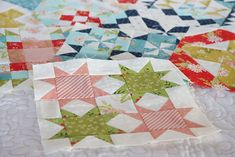 Moda Block Heads 3 - Block 56 Star Dance 4'', 6'', 8'' & 12'' Pattern Blocks, Quilt Patterns, Block Patterns, American Patchwork And Quilting, Block Head, Primitive Gatherings, Soft Corals, Flying Geese, Quilt Blocks