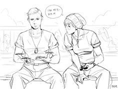 Rainbow Six Siege Anime, Rainbow Six Siege Memes, Character Design References, Character Art, Human Sketch, Birthday Card Drawing, Drawing Expressions, Drawing Reference Poses, Human Art