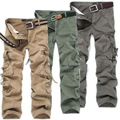 mens hairstyles 2017 New Men s Designer Camouflage Cargo Pants Man Casual  Military Man Tactical Pants Trousers 5 Colors Large Size Plus Size 46      Details ... 2e0ed604599f