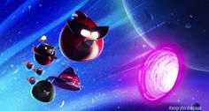As promised, the first true sequel to Angry Birds is finally available. Angry Birds Space builds upon the first game while offering new gameplay that Angry Birds, Angry Bird Pictures, Warp Drive, Best Android Games, Apple Products, Mobile App, Product Launch, Cool Stuff, Space City