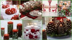 Christmas wedding centerpiece ideas #Christmas #Wedding #Centerpiece