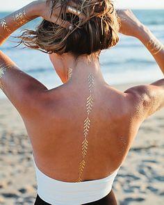 Lulu DK Love Story Temporary Jewelry Tattoos, Pack of 2 | Bloomingdale's