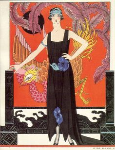 George Barbier, from Gazette Du Bon Ton 1921 | More on the myLusciousLife blog: www.mylusciouslife.com