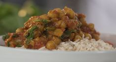 Chickpea curry image pciture photo