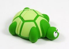 Cute as a button turtle flash drive.