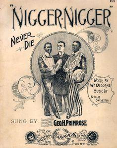 1880-1900 Popular American Racist Songs