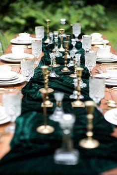 Trendy, yet timeless velvet decor and fashion ideas for your wedding.