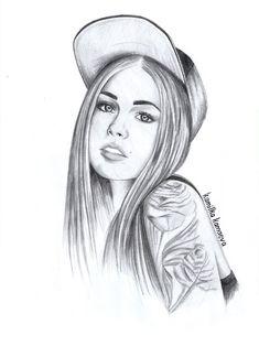 Girl drawings - Google Search
