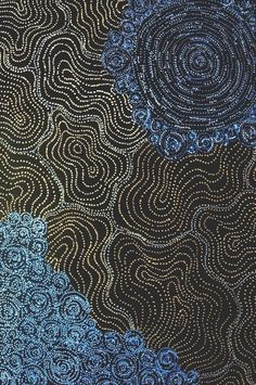 maybe by serrate King - australian aboriginal artist. need to verify. King Painting, Dot Art Painting, Aboriginal Painting, Aboriginal Artists, Indigenous Australian Art, Indigenous Art, Kunst Der Aborigines, Modern Artwork, Native Art