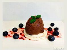Inghetata cu ciocolata amaruie