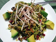 Detox Salad by Rock My Vegan Socks. #vegan
