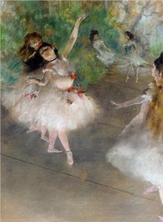 off Hand made oil painting reproduction of Dancers, one of the most famous paintings by Edgar Degas. Edgar Degas is known for his vast iconic collection of pieces about ballerinas and dancers. Art Gallery, Degas Paintings, Art Painting, Fine Art, Art Appreciation, Impressionist Art, Drawings, Artist, Painting