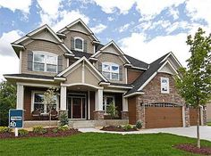 Craftsman Beauty With 2-Story Great Room - 73342HS | Craftsman, Northwest, Traditional, Exclusive, Luxury, Photo Gallery, Premium Collection, 2nd Floor Master Suite, Butler Walk-in Pantry, CAD Available, Den-Office-Library-Study, In-Law Suite, Jack & Jill Bath, Media-Game-Home Theater, PDF, Sloping Lot | Architectural Designs