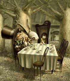 Fernando Falcone. Alice in Wonderland.