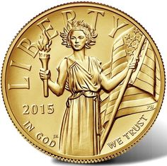 American Liberty 2015 High Relief Gold Coin